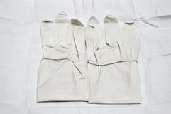 kirurgiska handskar Fotografering för Bildbyråer