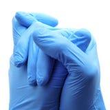 Kirurgiska handskar Arkivfoton
