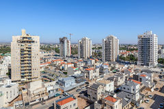 Kiryat Gat skyline view. Royalty Free Stock Image