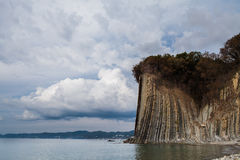 Kiselev峭壁 免版税图库摄影