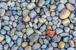 Kiselsten- eller stenbakgrund Royaltyfria Foton