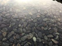 Kiselstenar i vattnet Royaltyfria Bilder