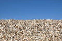 Kiselstenar på strand 1 Fotografering för Bildbyråer