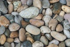 Kiselstenen stenar bakgrundsnaturskönhet royaltyfria bilder