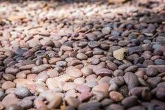Kiselstentexturbakgrund fotografering för bildbyråer