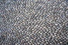 Kiselstenväggrå färger Royaltyfri Fotografi