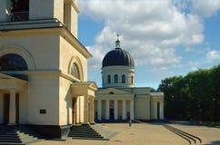Kishinev, centro della città fotografia stock