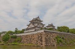 Kishiwada slott, Japan Arkivfoton