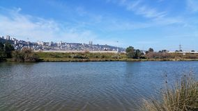Kishon-Fluss Haifa Lizenzfreies Stockbild