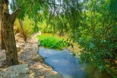 Kishon Park (HaAmakim park) Stock Photos