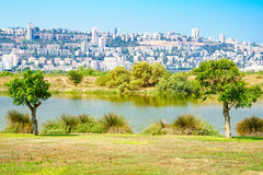 Kishon Park, Haifa Stock Photos