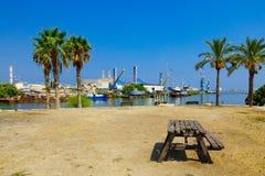 Kishon Park and Port, Haifa Royalty Free Stock Photography