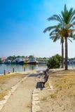 Kishon Park and Port, Haifa Royalty Free Stock Photo