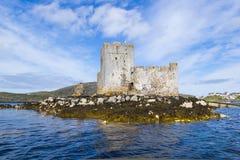 Kisimul slott Royaltyfri Fotografi