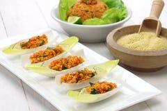 Kisir,碾碎干小麦沙拉,土耳其食物 库存图片