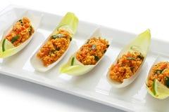 Kisir, салат булгура, турецкая еда Стоковые Фотографии RF
