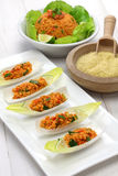Kisir, bulgur sałatka, turecki jedzenie Zdjęcie Royalty Free