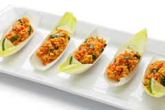 Kisir, bulgur salade, Turks voedsel royalty-vrije stock foto's