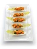 Kisir, ensalada del bulgur, comida turca Foto de archivo libre de regalías