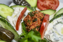 Kisir - traditional side dish in Turkish cuisine Stock Image
