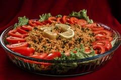 Kisir, Traditional Turkish Royalty Free Stock Image