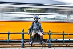 Kiskiralylany statue in Budapest Stock Photography