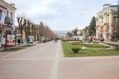 Kislovodsk. Municipal landscape Royalty Free Stock Photo