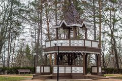 Kislovodsk Park Narodowy Rosja Obraz Royalty Free