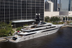 The Kismet Super Yacht Stock Images