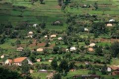 Kisoro - Uganda, Afrika lizenzfreie stockfotografie