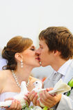 Kiss Royalty Free Stock Photos