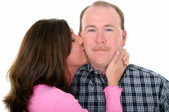 Kiss Royalty Free Stock Photo