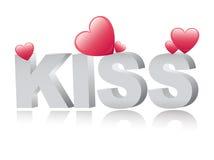 Kiss stock illustration