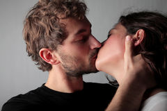 Kiss Royalty Free Stock Images