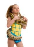 kiss of anacondas Royalty Free Stock Images