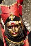 Kiss of Carnival masks in Venice Italy Stock Photo