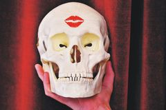 Kiss of death Stock Photo