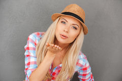 Free Kiss For You. Royalty Free Stock Photos - 60333248