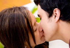 Kiss of love Royalty Free Stock Image