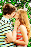 Kiss of love Royalty Free Stock Images