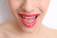 Kiss me Royalty Free Stock Images