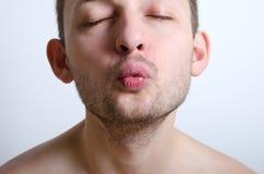 Kiss me! Stock Photo