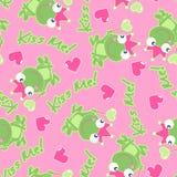 Kiss me frog. Royalty Free Stock Photos