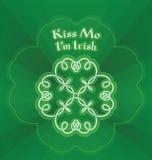 Kiss me I m Irish Royalty Free Stock Images