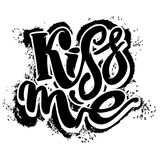 Kiss me. Stock Images