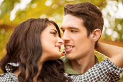 Kiss Me My Darling Stock Photography