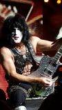 Kiss Paul Stanley Royalty Free Stock Image