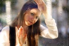 Kiss the rain Stock Photo