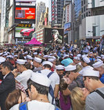 Kiss-In at Times Square Stock Photo