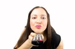 Kiss tv Stock Photography